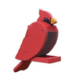 cardinal Bird Feeder by Beaver Dam