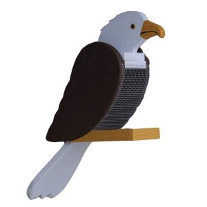 Eagle Bird Feeder by Beaver Dam