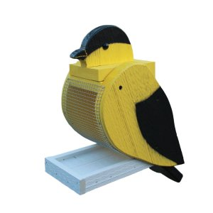 Gold Finch Bird Feeder by Beaver Dam