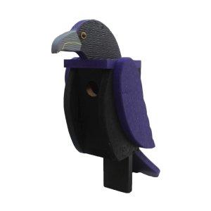 Raven Birdhouse by Beaver Dam