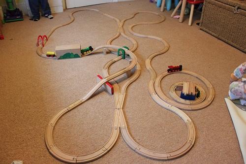 Brio Wooden Train Track