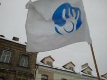 Užupio vėliava.
