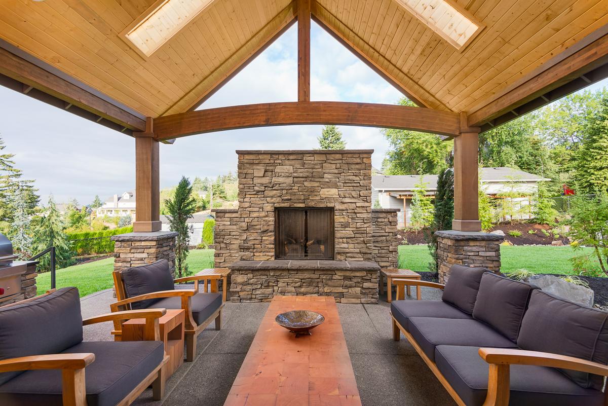 Custom Patio Design to Define Outdoor Spaces - Woodfield ... on Custom Backyard Designs id=29159