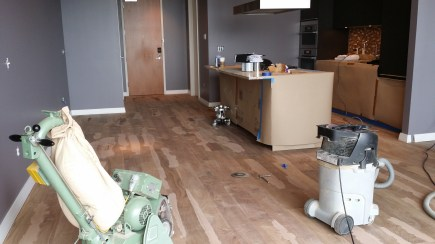 Hardwood Floor Refinishing in Houston