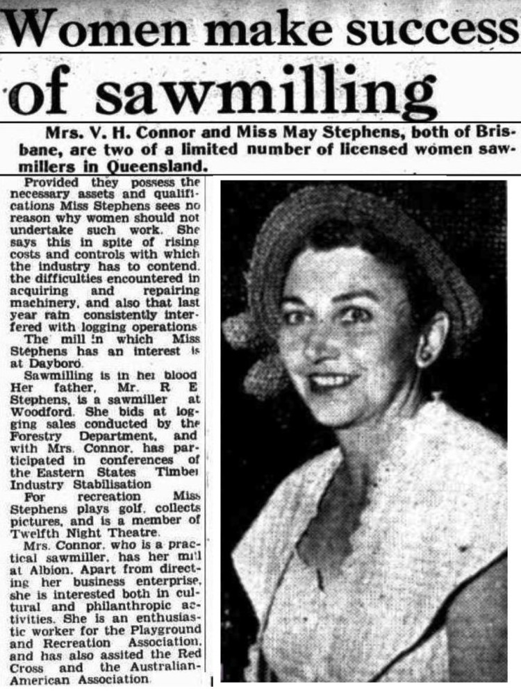 Brisbane Telegraph 13 Jan 1951