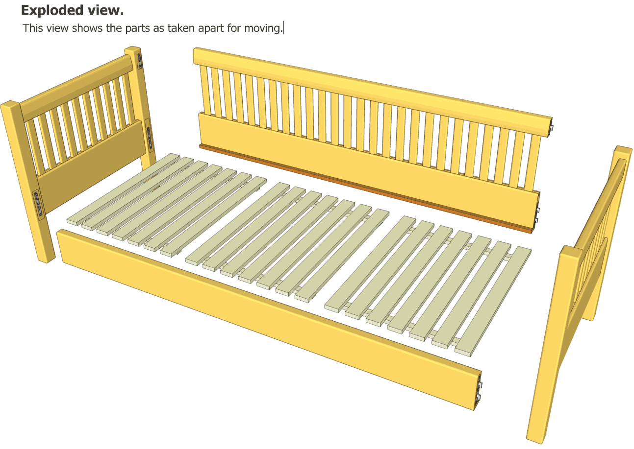 woodworking plans in google sketchup