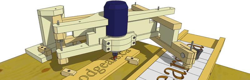 Plans Pantograph Dremel