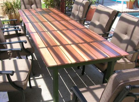 Refnishing a table top on Patio Planner id=22071