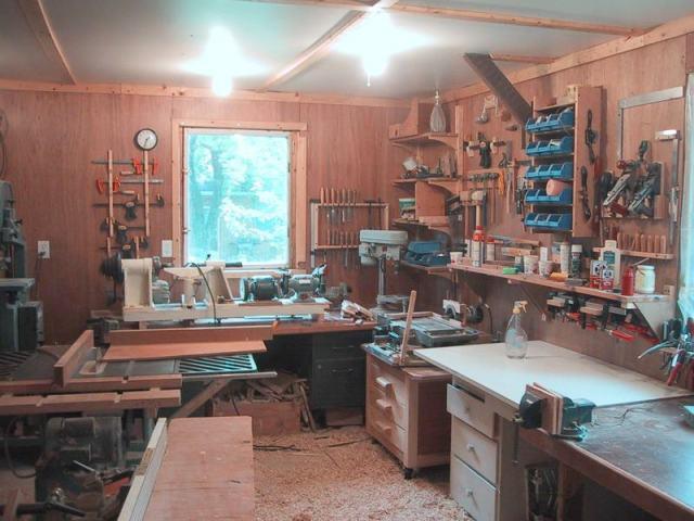 Wood Workshop Ideas