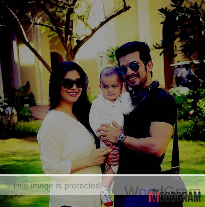 Arjun Bijlani Son And Wife