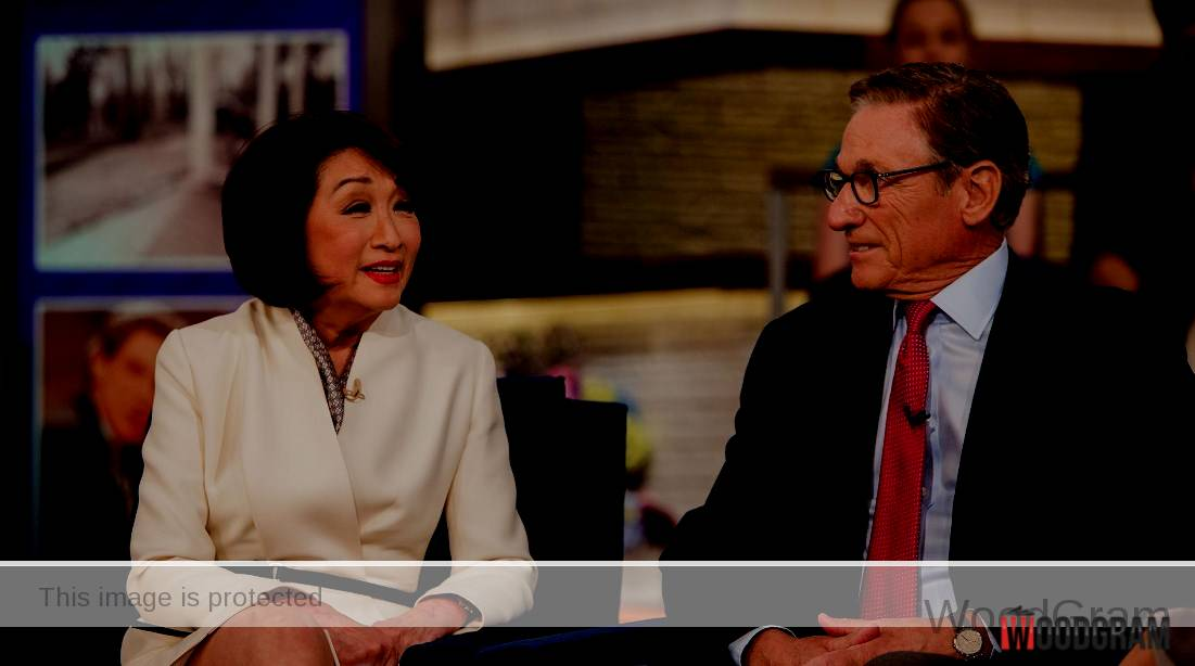 Connie Chung With Husband Maury Povich