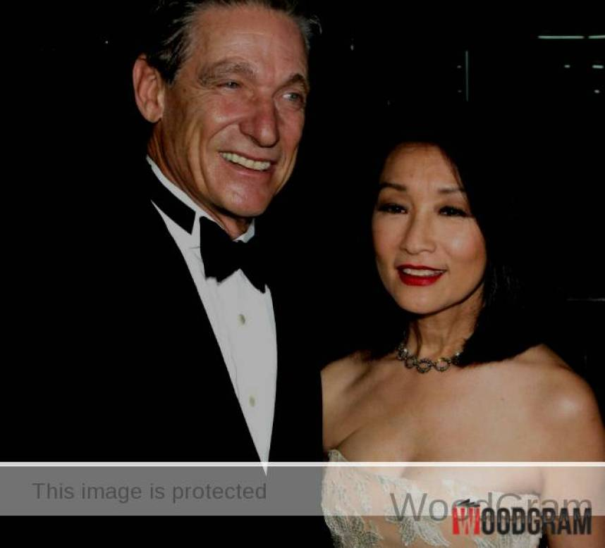 Connie Chung With Husband