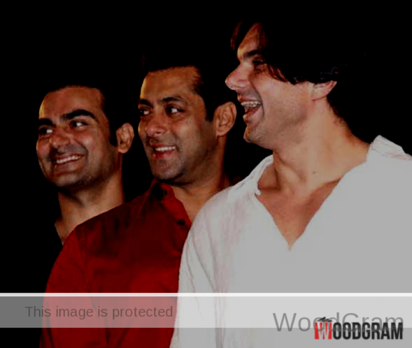 Sohail Khan With Salman And Arbaaz Khan