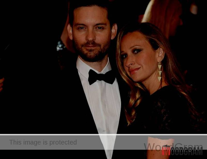 Tobey Maguire And His Wife Jennifer Meyer
