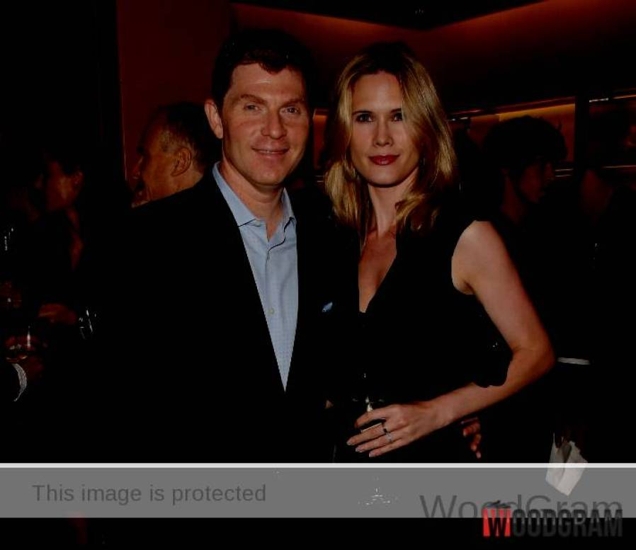 Bobby Flay With Wife