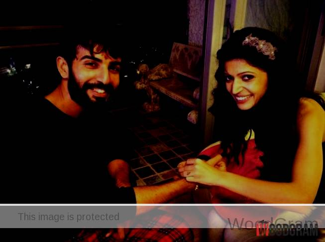 Charlie Chauhan With Her Brother