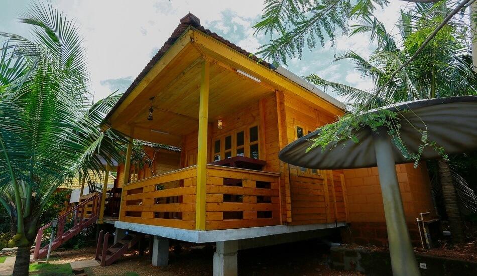 Arjuna - Woodden Cottages