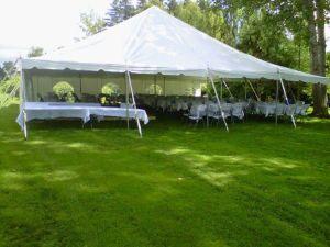 tent40x40readyforwedding