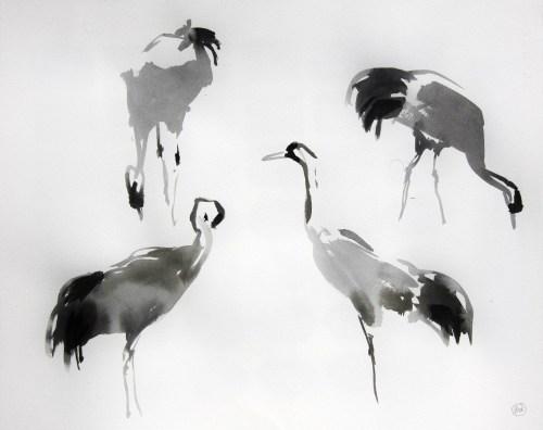 Four Crane Studies
