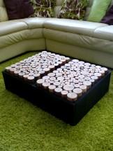2 Tables basses hauteur 20 cm signé Wood'insane Design