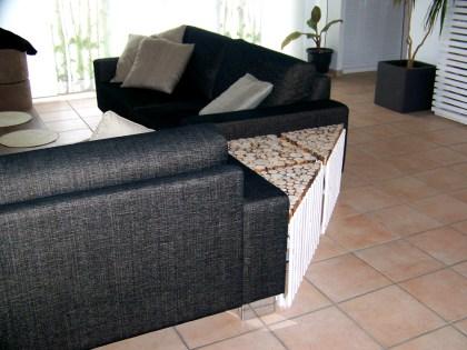 Angle de canapé
