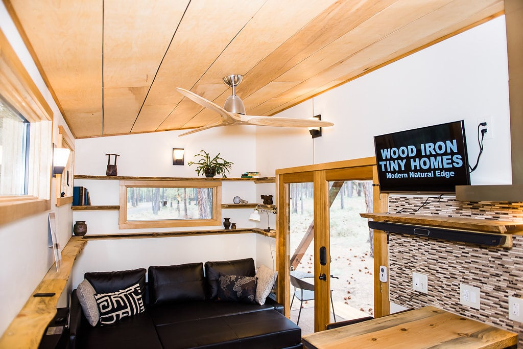 tiny house home high celing