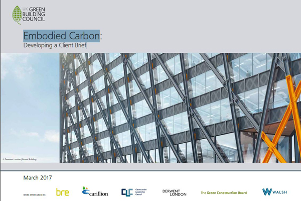 Embodied Carbon: Developing a Clients Brief