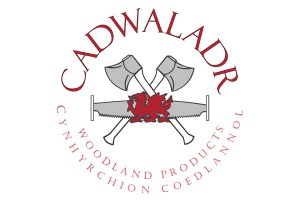 Logo for Cadwaladr Woodland Products