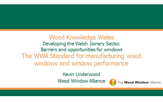 Kevin Underwood (Event 2) - Wood Windows Alliance