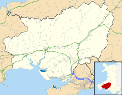 Carmarthenshire in West Wales