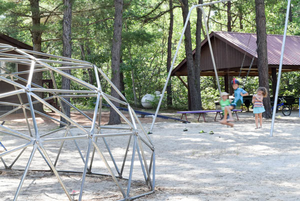 Playground at a campground