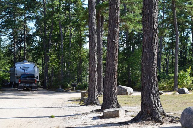 Pet friendly campground Maine