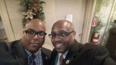 Annual Affair Selfie - Bro Pierson and WB Monitigue