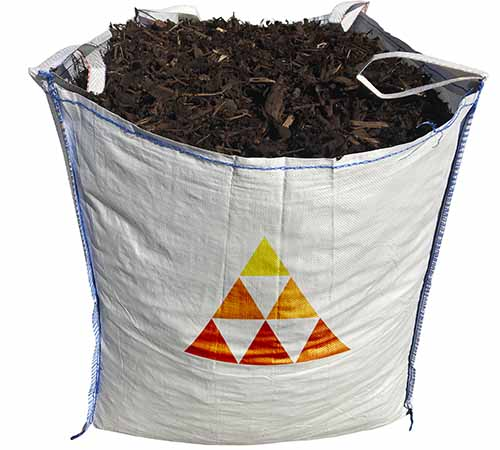 decorative garden mulch bulk bag