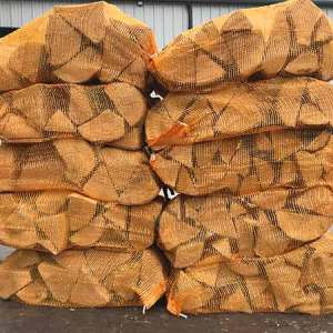 nets of kiln dried oak logs