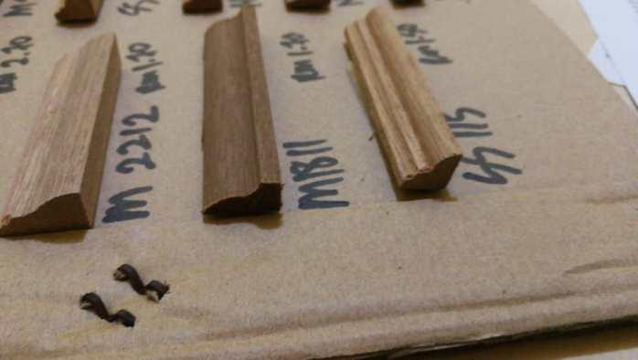Kayu Nyatoh Skirting - Small Size