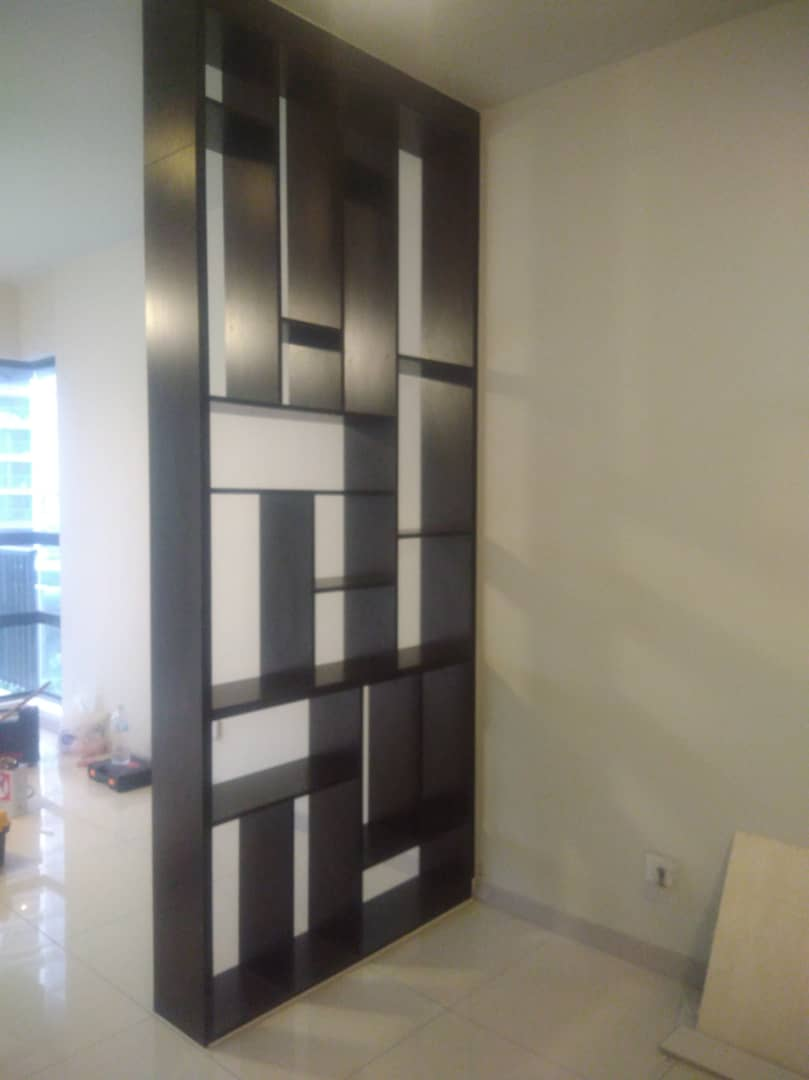 Wood Divider with Mixed Wood In Selangor