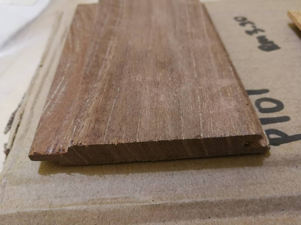 Kayu Nyatoh Wood Panel Tongue and Groove P108