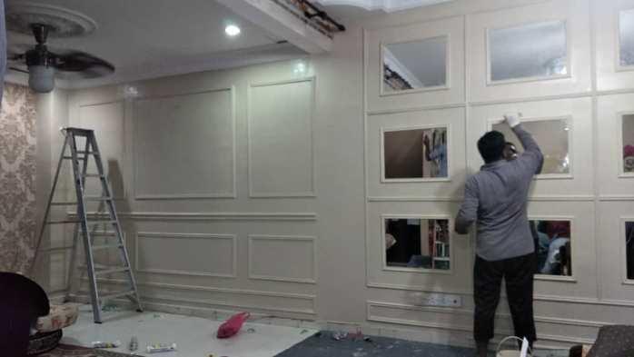 Standard Wainscoting Full Wall Selangor