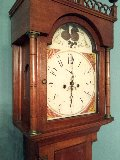 28 Tall case clock