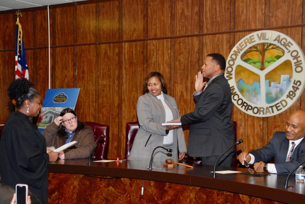 Swearing in of Mayor Holbert