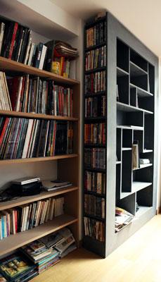 WoodMood Bibliothques