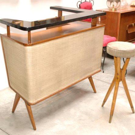 Bar WNL2U – Modern 50s Italian Home Bar with Stool