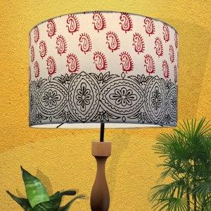 Paisley Design lamp shade