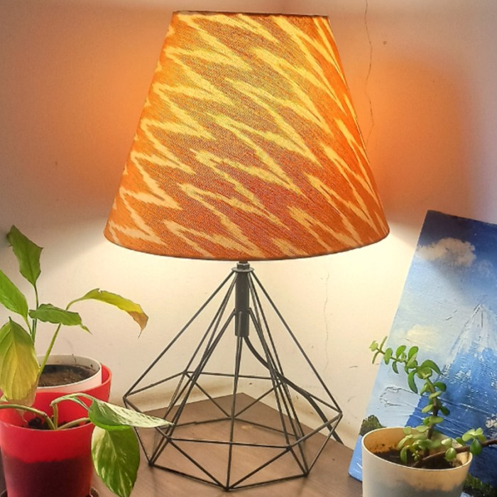 Ikat table Lamp