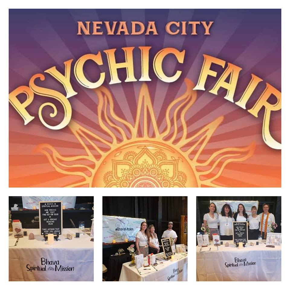 Woods and Wander | Nevada City Psychic Fair 2019 | Mary Rogers