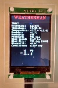 Weatherman Colour: