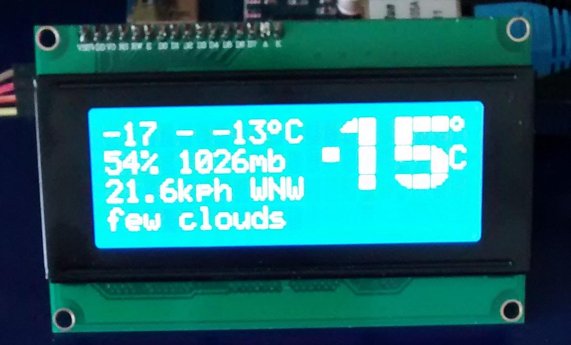 Web-based Weather Station | WoodUino ca