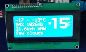 Web Weather Station