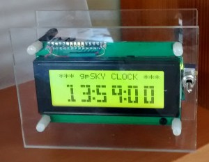 gpSkyClock in clock mode
